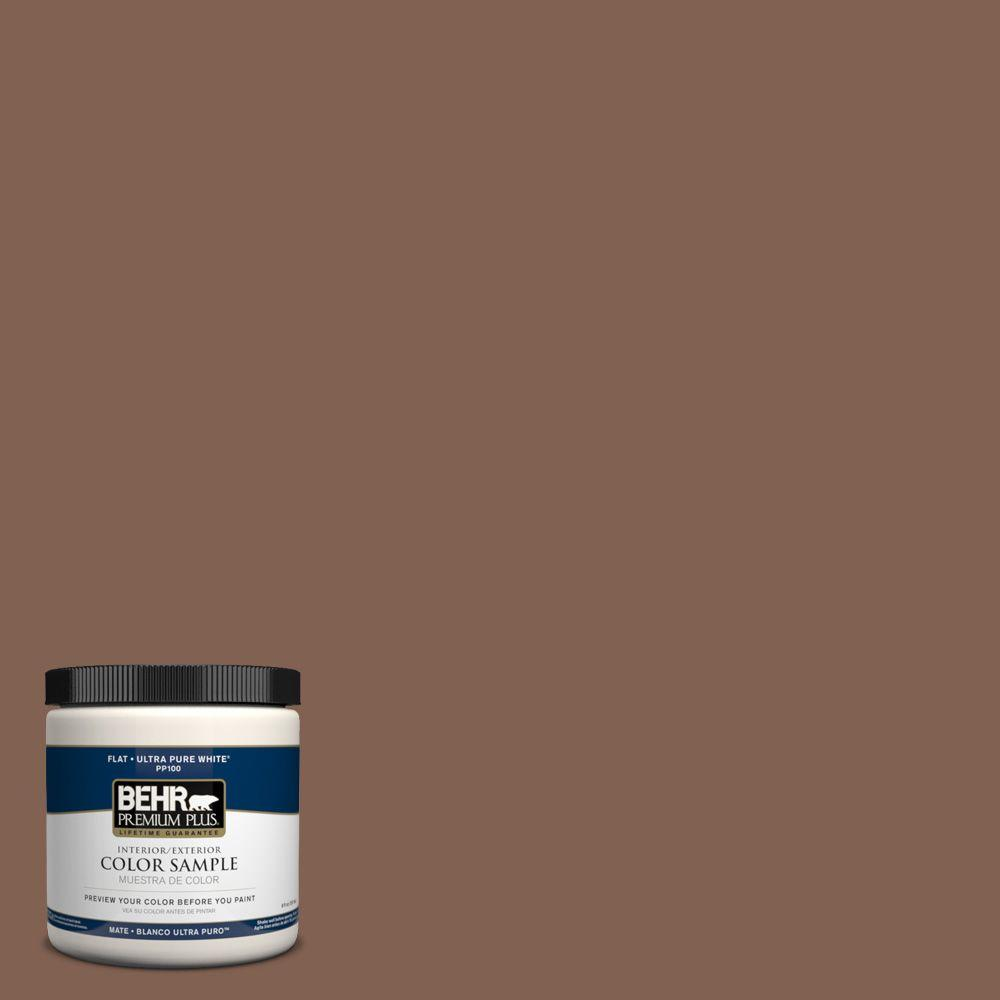 8 oz. #HDC-SP14-6 Tilled Earth Interior/Exterior Paint Sample