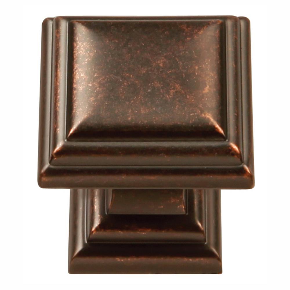 Somerset Collection 1-1/16 in. Dia Dark Antique Copper Finish Cabinet Knob