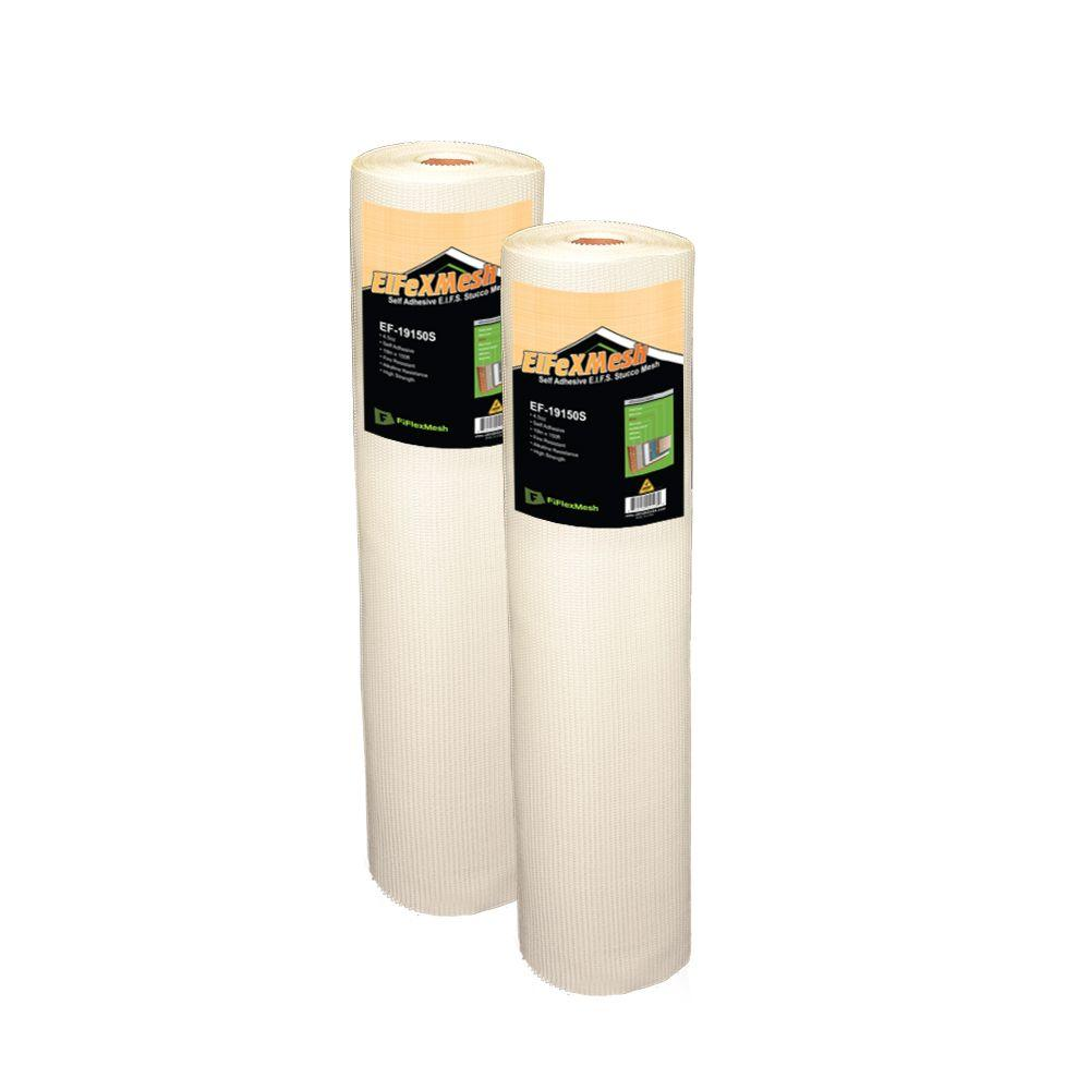 X 150 Ft BOEN 38 In EIFS Stucco Mesh 4-Pack Eifex Fire Resistant Non Adhesive