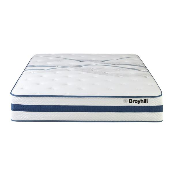 Broyhill Natural Spring Sapphire 11 in. Twin XL Earl Firm Hybrid