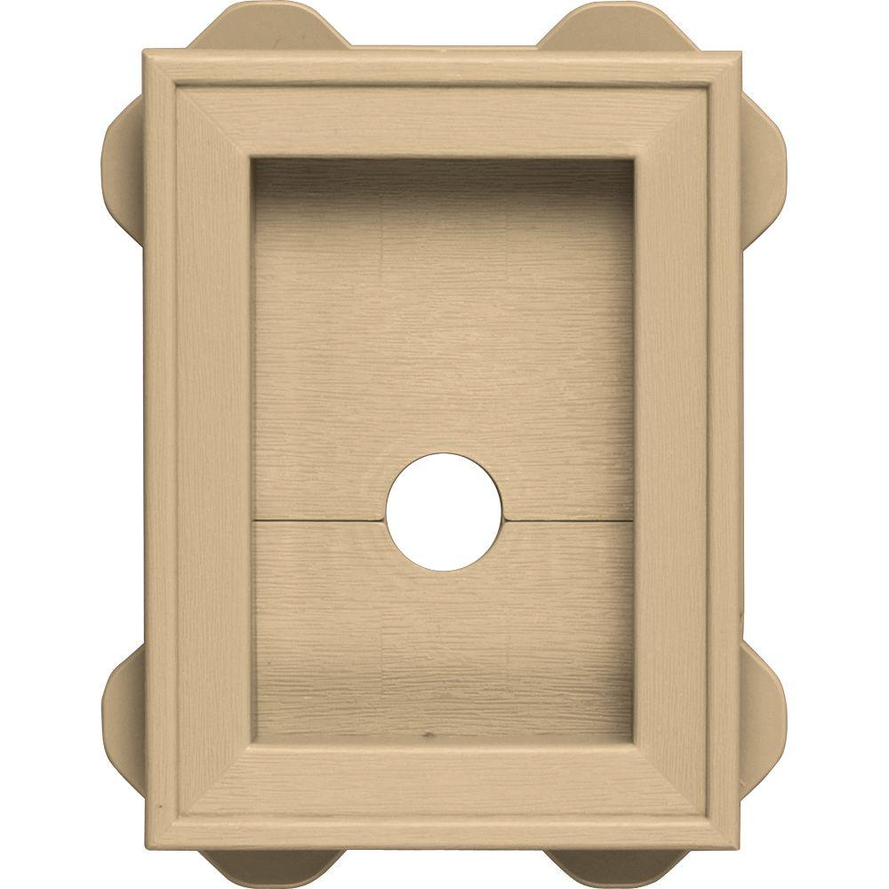 5.5 in. x 8.625 in. #045 Sandstone Maple Wrap Around Mounting