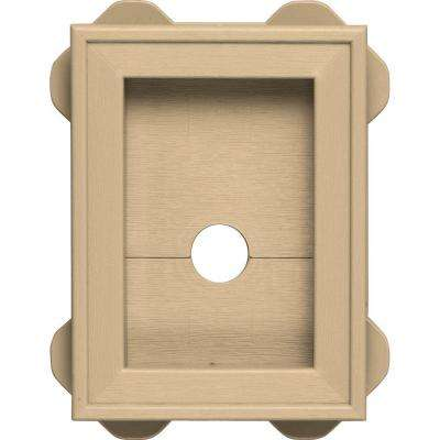5.5 in. x 8.625 in. #045 Sandstone Maple Wrap Around Mounting Block