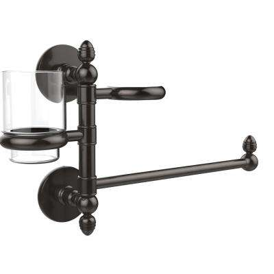 Prestige Skyline Collection Hair Dryer Holder and Organizer in Oil Rubbed Bronze
