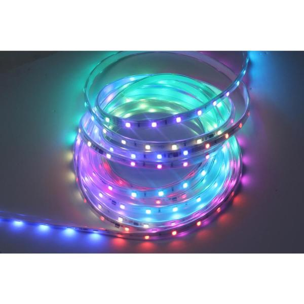 Show Home App 216 Light Led Multi Color Rope Light W10i0110 The Home Depot