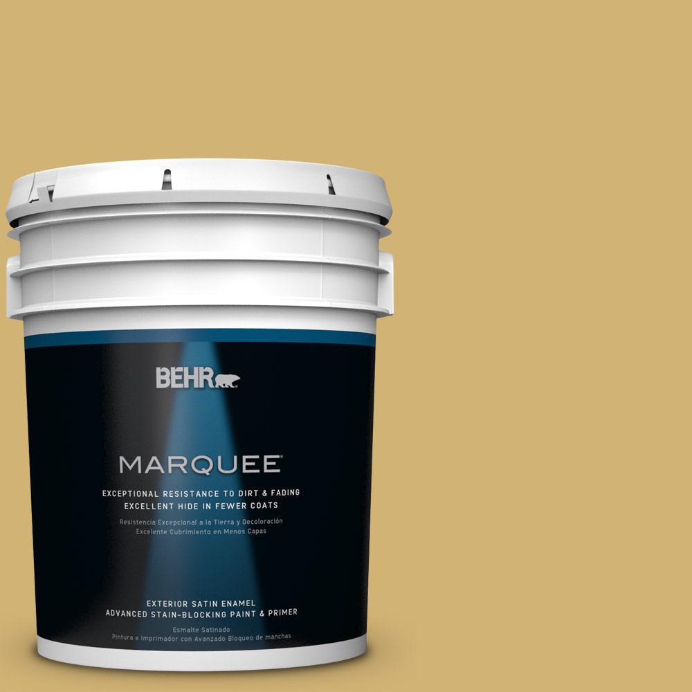 5-gal. #M320-5 Dried Chamomile Satin Enamel Exterior Paint