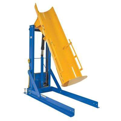 72 in. 750 lbs. Capacity Stationary Hydraulic Drum Dumpers