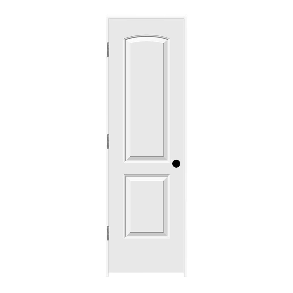 24 in. x 80 in. Continental Primed Right-Hand Smooth Solid Core