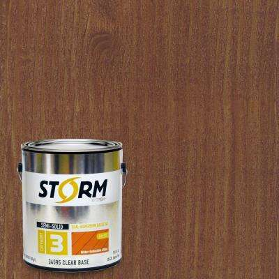 Category 3 1 gal. Chestnut Brown Exterior Semi-Solid Dual Dispersion Wood Finish