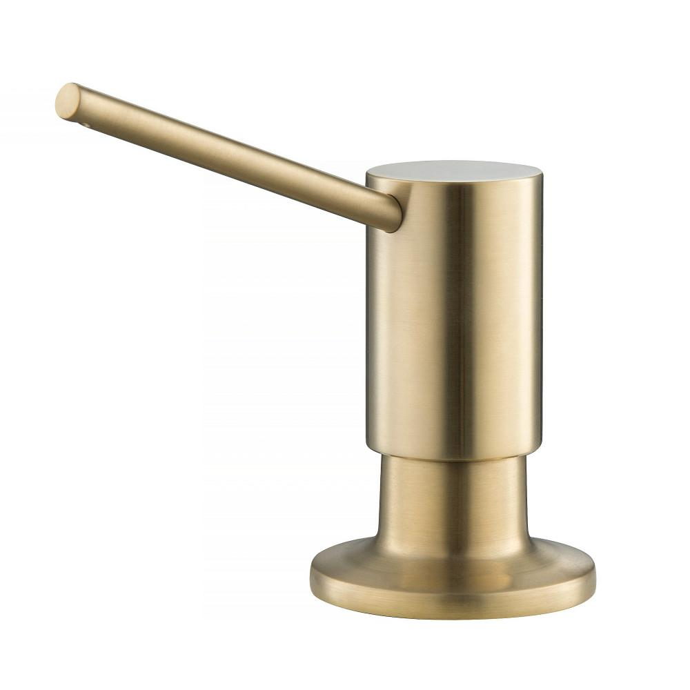 kraus kitchen soap dispenser in brushed gold-ksd-41bg