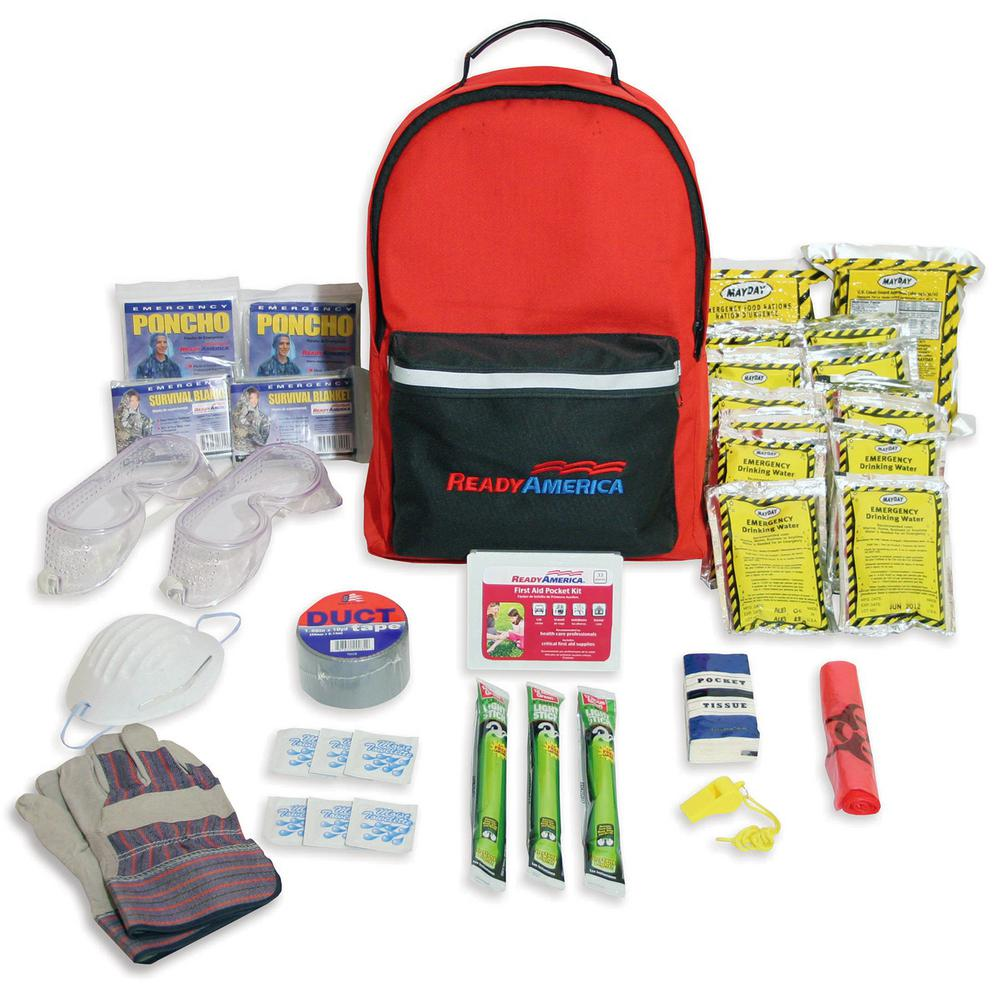 2-Person 3-Day Tornado Emergency Kit Backpack