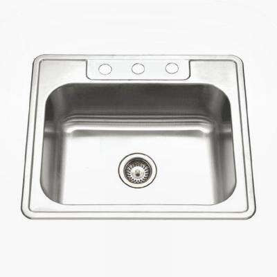 HOUZER Dropin Kitchen Sinks Kitchen Sinks The Home Depot - Houzer kitchen sink