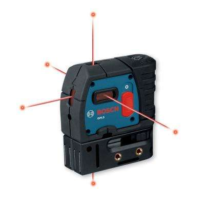 5-Point Self-Leveling Plumb and Square Laser