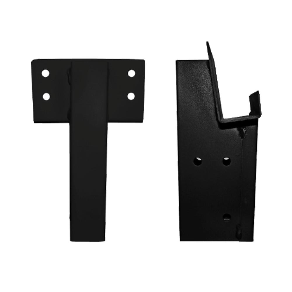 2 in. x 4 in. Single Angle Brackets (Set of 2)