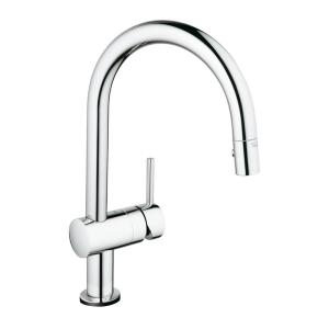 GROHE Minta Touch Single-Handle Pull-Down Sprayer Kitchen Faucet in StarLight... by GROHE