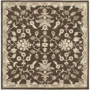 Artistic Weavers Zari Chocolate 8 ft. x 8 ft. Square Indoor Area Rug by Artistic Weavers