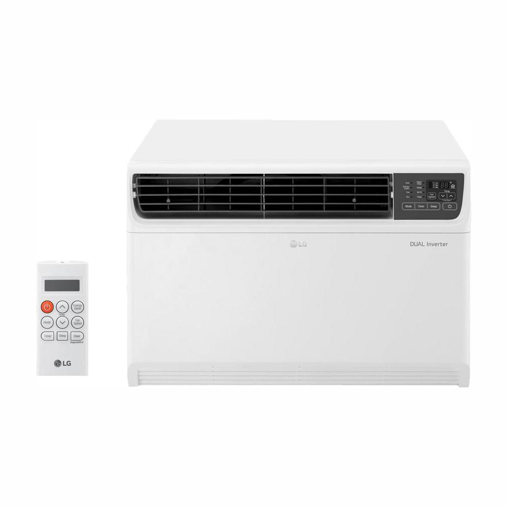 LG Electronics 22,000 BTU Dual Inverter Smart Window Air Conditioner with  Wi-Fi Enabled and Remote in White