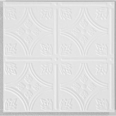TINTILE 1 ft. x 1 ft. Tongue and Groove Ceiling Tile ( 40 sq. ft. / case)