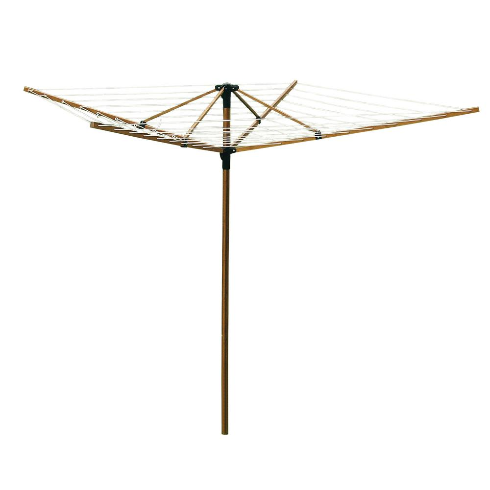 Greenway Large Outdoor Bamboo Rotary Clothesline GCL9FAB   The Home Depot