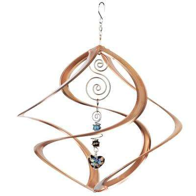 Cosmix 14 in. Metal Copper With Heart