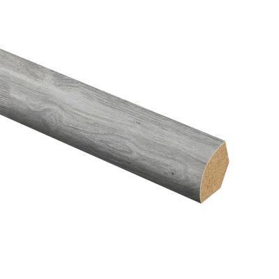 Silverton Oak 5/8 in. Thick x 3/4 in. Wide x 94 in. Length Laminate Quarter Round Molding