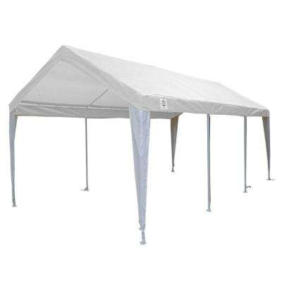 10 ft. W x 20 ft. D Fitted Top with Leg Skirt