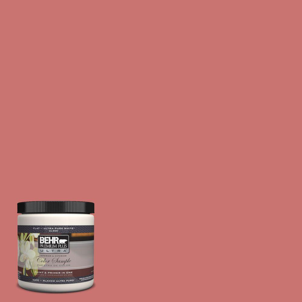 8 oz. #160D-5 Lovable Matte Interior/Exterior Paint and Primer in One