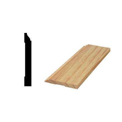 WM 620 9/16 in. x 4-1/4 in. x 96 in. Solid Pine Base Moulding