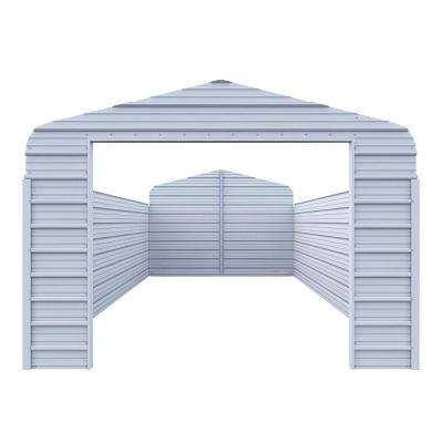 Enclosure Kit for 12 ft. W x 20 ft. L x 7 ft. H Steel Carport
