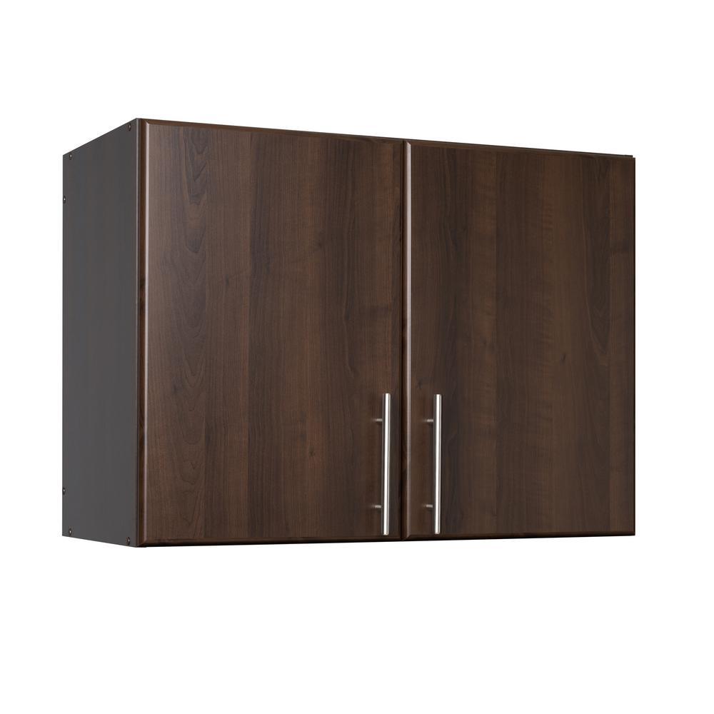 +5. Prepac Elite Espresso Cabinet