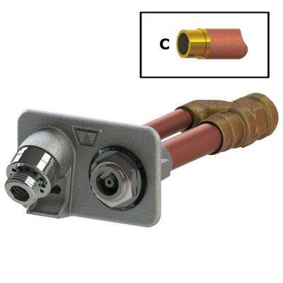 3/4 in. Female SWT x 4 in. Freezeless Anti-Siphon Wall Hydrant