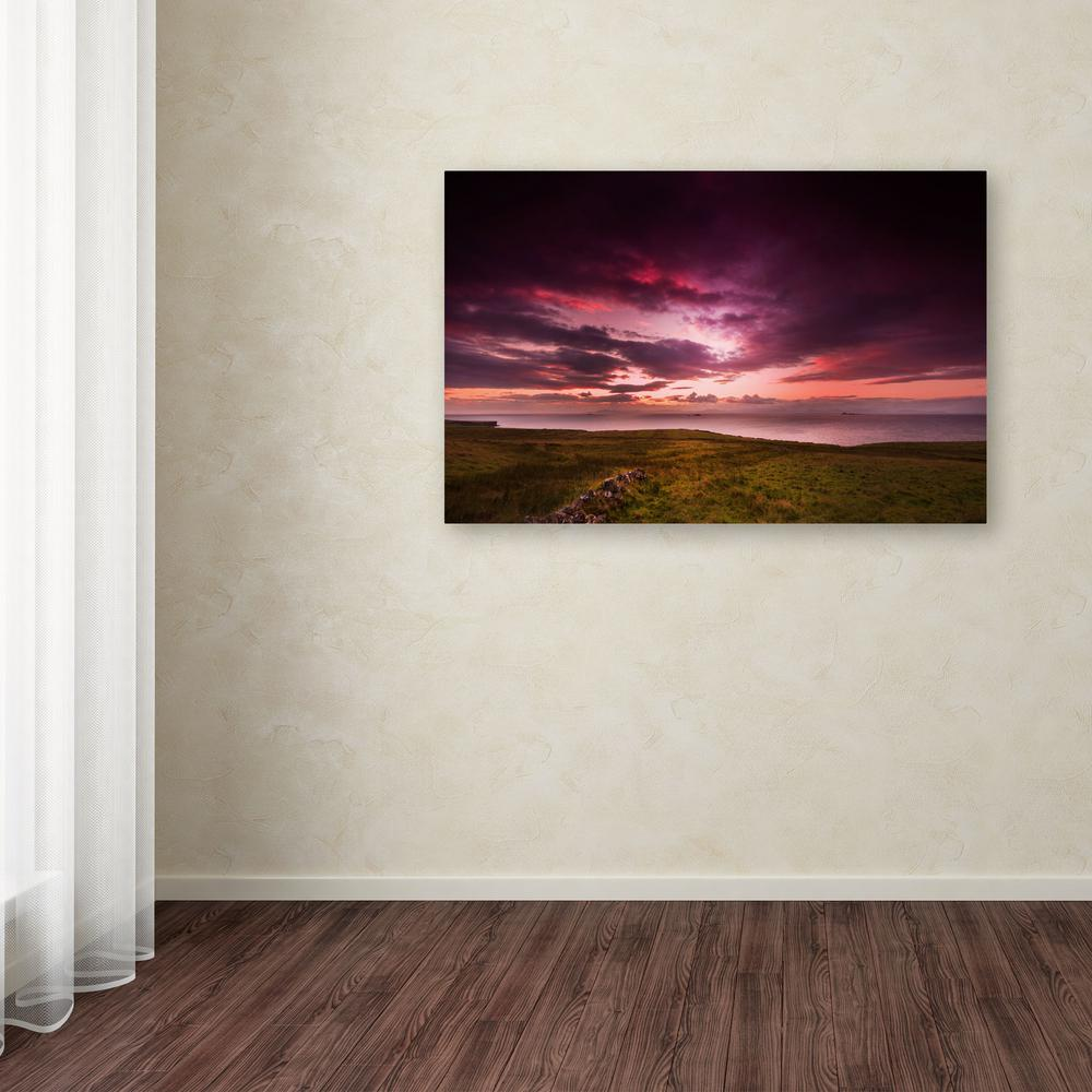 "22 in. x 32 in. ""Infinite"" by Philippe Sainte-Laudy Printed Canvas"