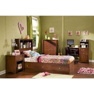 Jumper 1-Drawer Classic Cherry Nightstand