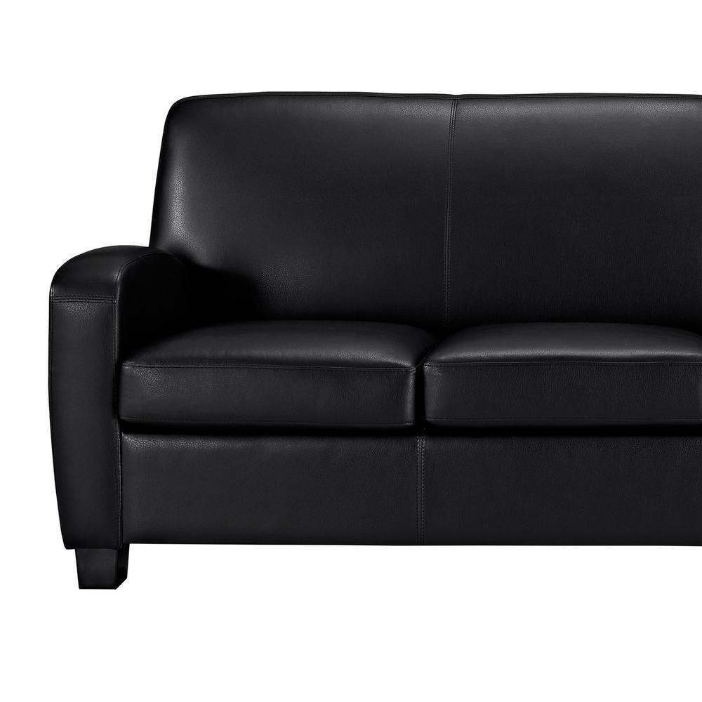 Dorel Living Marina Black Faux Leather