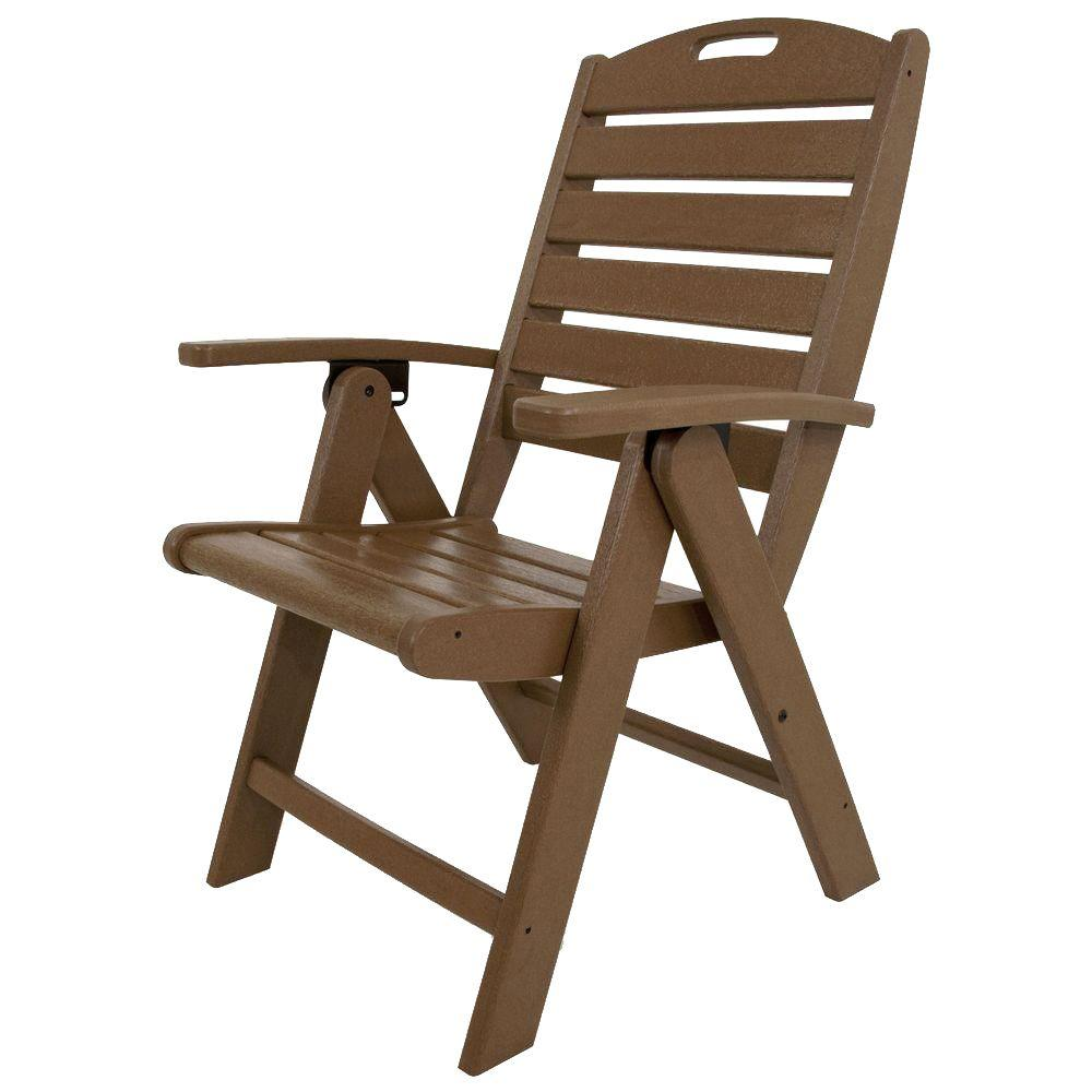 Trex Outdoor Furniture Yacht Club Tree House Highback Patio Folding ...