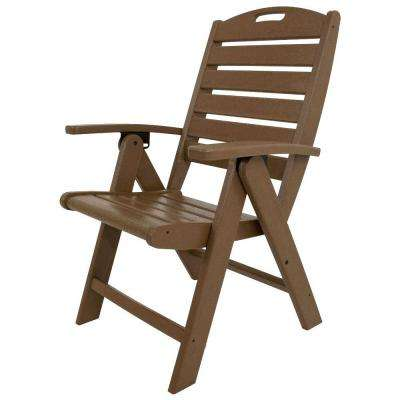 yacht club tree house highback patio folding chair