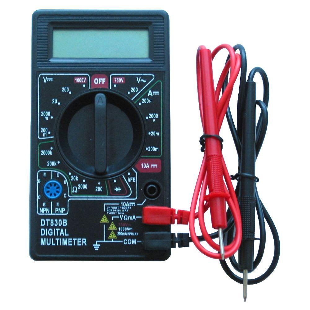 ThermoSoft Digital Multimeter Conveniently Measures Floor Heating System Resistance as Required by Warranty