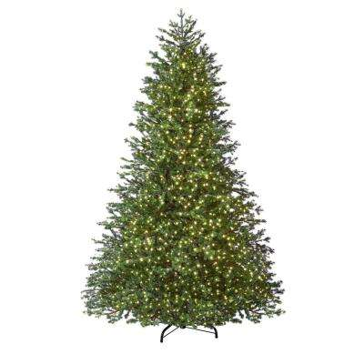 Most Realistic Artificial Christmas Tree.7 5 Ft Pre Lit Led Natural Fir Artificial Christmas Tree With 2000 Warm White Micro Dot Lights