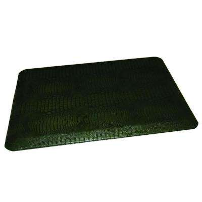 Comfort Craft Crocodile Laurel 24 in. x 48 in. Poly-Urethane Anti-Fatigue Kitchen Mat