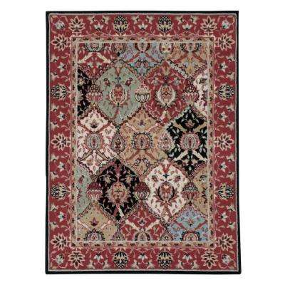 Modesto Reverie Multi 4 ft. x 5 ft. Area Rug