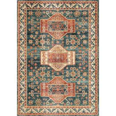 Steph Transitional Blue 7 ft. x 9 ft.  Area Rug