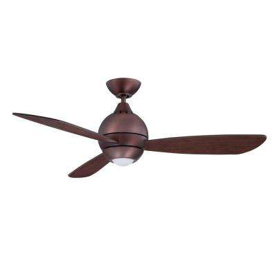 Sphere-2 44 in. LED Oil Brushed Bronze Ceiling Fan