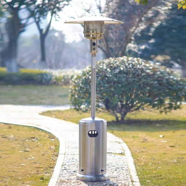 Home Depot: Stainless Steel Patio Heater $99.00
