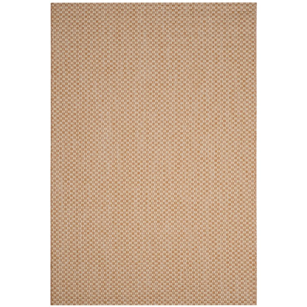 Safavieh Courtyard Natural Cream 6 ft 7 in x 9 ft 6 in