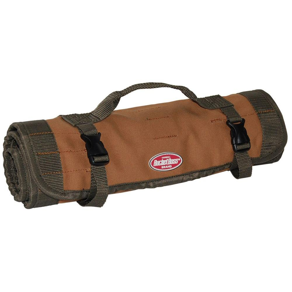 Bucket Boss 22 Pocket 26 In Tool Bag Roll