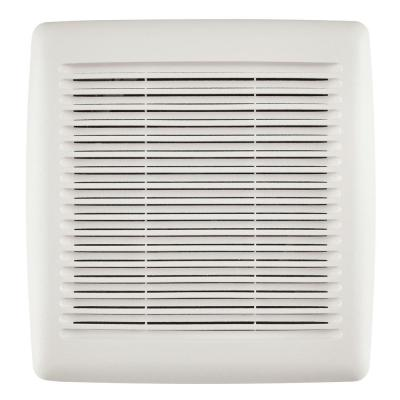 Easy Install Bathroom Exhaust Fan Replacement Grille/Cover White