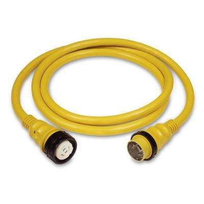 50 ft. 50 Amp 125/250-Volt Power Cord Plus Cordset (4-Wire) with LED