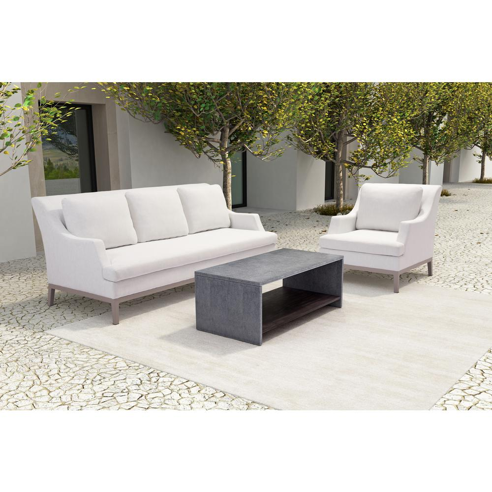 ZUO Mom Wood Outdoor Coffee Table-100798 - The Home Depot