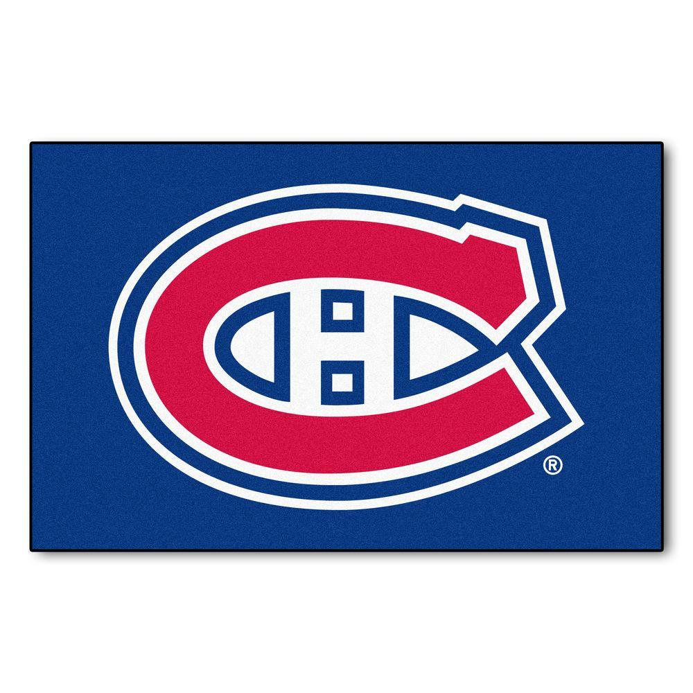 FANMATS Montreal Canadians 19 in. x 30 in. Accent Rug