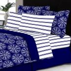undefined Delray 8-Piece Multicolored Queen Bed in a Bag Set