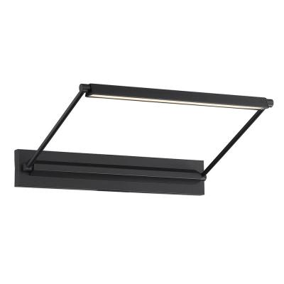 Hudson 17 in. Black LED Adjustable Picture Light, 3000K